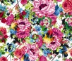 Blumen in knalligen Farbtönen