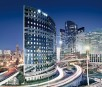 Futuristische Großstadt im Designerlook